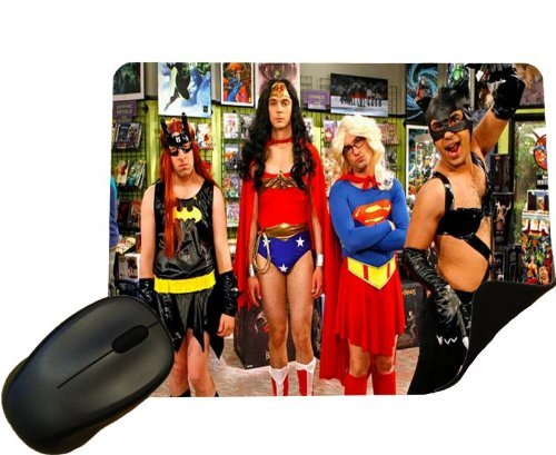 en Big Bang Theory Kostüme Mauspad - Comedy TV Show - Mauspad ()