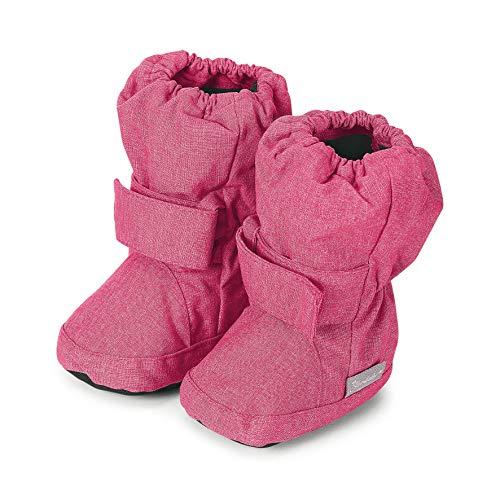 Sterntaler Mädchen Baby Stiefel mit Klettverschluss, Farbe: Magenta melange, Größe: 19/20, Alter: 12-18 Monate, Artikel-Nr.: 5101810