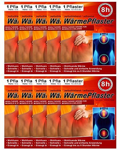 Parches térmicos para espalda