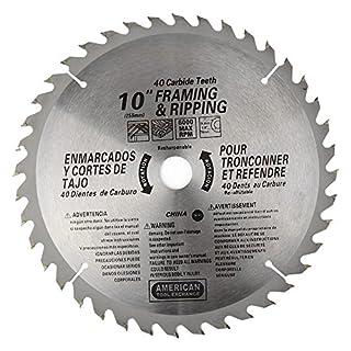 ATE Pro. USA 3203440Zähne Hartmetall Klinge, 25,4cm