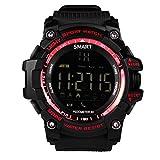 Bluetooth Smart Watch, hinmay Wasserdicht IP67Smartwatch Schrittzähler Fitness Tracker tragbar Technologie Fernbedienung Kamera Running Equipment für Android und IOS Smartphones