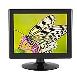 Bewinner Schermo da Computer Desktop 1024x768 700: 1 da 15 Pollici, Display LCD TFT ad Alta risoluzione, Supporto Input VGA, Monitor HD per Monitor TVCC, Monitor Computer(UE)