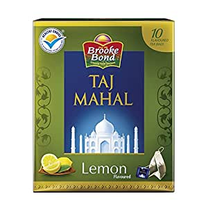 Brooke Bond,  Taj Mahal Lemon Tea, 10 Tea Bags