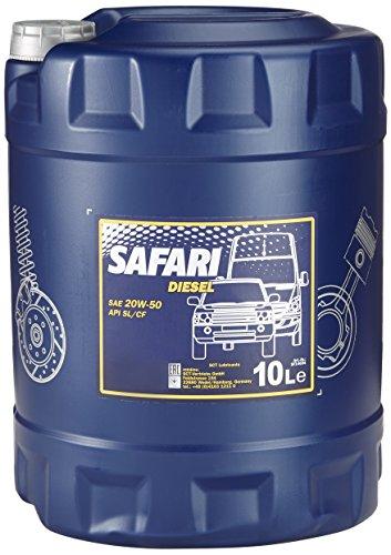 Preisvergleich Produktbild MANNOL Safari 20W-50 API SL/CF Motorenöl, 10 Liter