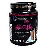 Fit shadow Her 100% Whey Protein Shake, Ideal All Natural Protein For Women