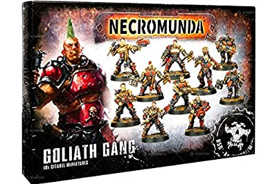 Games Workshop Jeux Atelier 99120599003 Necromunda Goliath Gang Miniature