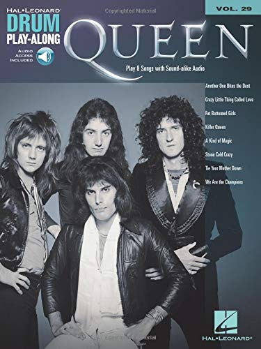 Drum Play-Along: Queen (Book/Audio)