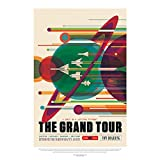 Wee Blue Coo LTD NASA Space Exploration Travel Advert Grand