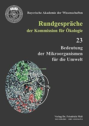 Bedeutung der Mikroorganismen für die Umwelt (Rundgespräche der Kommission für Ã-kologie) (2002-02-01)