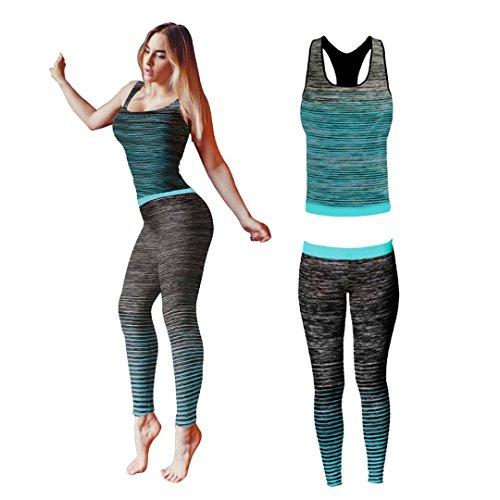 Conjunto ropa yoga entrenamiento mujer Bonjour®