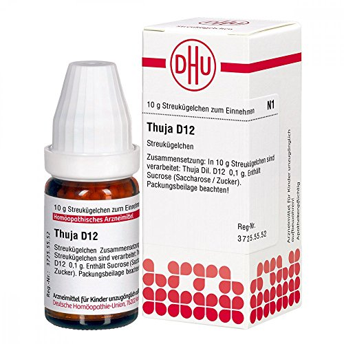 DHU Thuja D12, 10 g Globuli
