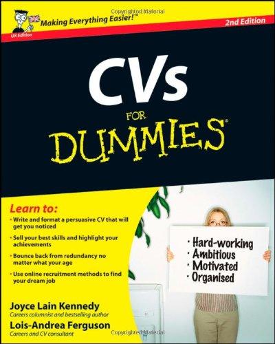 cvs-for-dummies