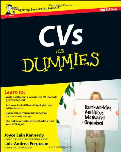 cvs-for-dummies-uk-edition