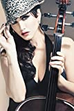 #7: Athah Designs Wall Poster -Sunny-Leone-Playing-With-Gitar-Zbhfgatkr