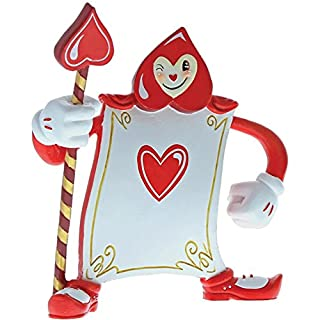Miss Mindy Card Guard Ace of Hearts Figurine, Resin, Multi-Colour,	5.31 inches