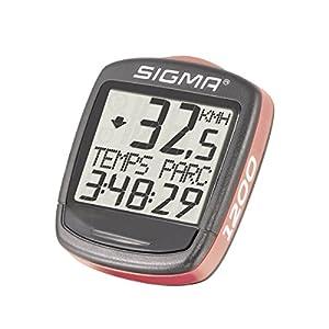 Sigma Elektro 01950 - Cuentakilómetros de ciclismo, 1200