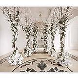 murando - Fototapete Wohnzimmer 400x280 cm - Vlies Tapete - Moderne Wanddeko - Design Tapete - Wandtapete - Wand Dekoration - Illusion 3D Optik d-B-0180-a-a