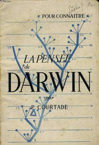 POUR CONNAITRE LA PENSEE DE CHARLES DARWIN par P. COURTADE