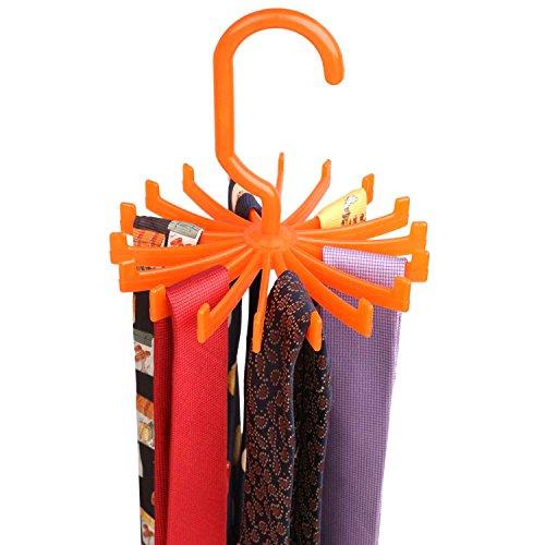 Tie Hanger Organiser - Orange