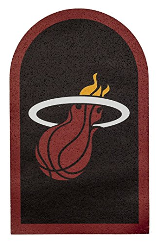 "Applied Icon NBA Unisex NBA Mailbox Logo Aufkleber, Unisex, NBA, rot, 8.125"" x 5\"""