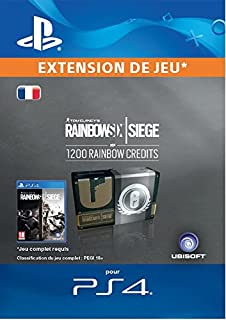 Tom Clancy's Rainbow Six Siege Currency pack 1200 Rainbow credits [Code Jeu PS4 - Compte français] (B074FHTJ6Z) | Amazon price tracker / tracking, Amazon price history charts, Amazon price watches, Amazon price drop alerts