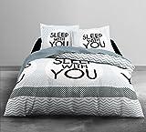 Today HC3algodón 57hilos Enjoy Home Sleep Home juego de cama 2personas Enjoy dibujo Sleep...