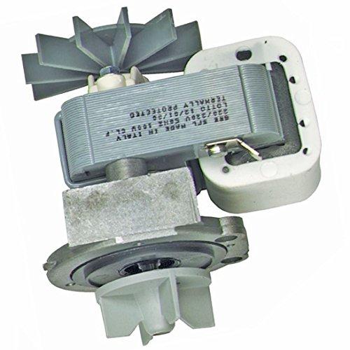 Ablaufpumpe Pumpe spares2go, Boden & Gehäuse mit Shaded Pole Motor für Miele Waschmaschinen (100W) -