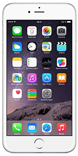 Image of Apple iPhone 6 Plus Smartphone (5,5 Zoll (14 cm) Touch-Display, 16 GB Speicher, iOS 8) silber