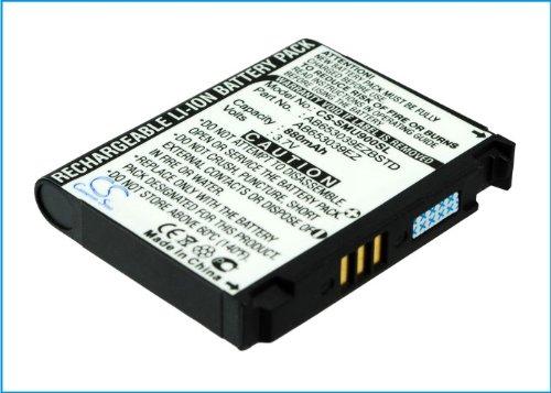 techgicoo 880mAh Akku kompatibel mit Samsung U900, sgh-u908, U900Soul, sgh-u808, sgh-u800, sgh-u900V