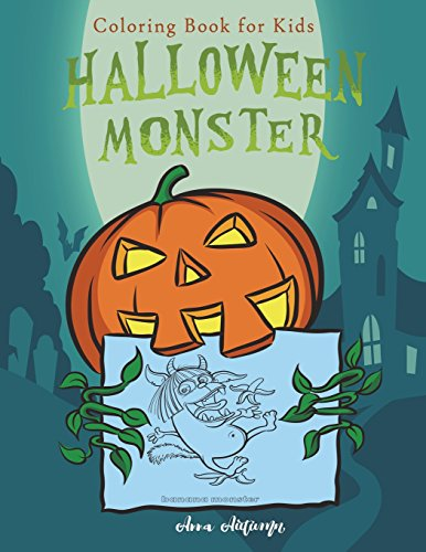 Halloween Monster: Coloring Book for Kids (Happy Halloween, Band 2)