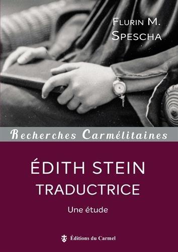 Edith Stein traductrice : Une étude