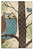 Tree Free Grußkarten 66514 12 Count Fantasy Eulen-Panel I Karteikarten-Set