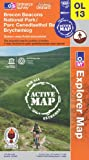 Brecon Beacons National Park - Eastern Area (OS Explorer Map Active)