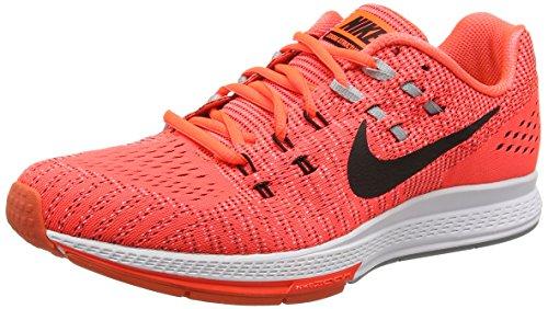 Nike Air Zoom Structure 19, Chaussures de Running Homme Orange (Total Crimson/Black/White/Wolf Grey)