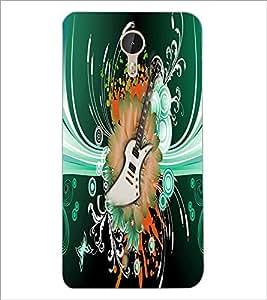 PrintDhaba Guitar D-4616 Back Case Cover for LETV (LE ECO) LE 1 PRO (Multi-Coloured)