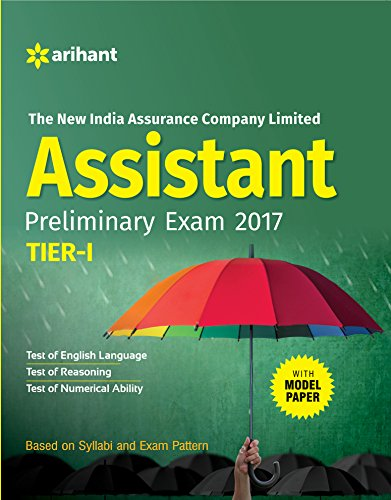 The New India Assurance Assistant Pre Tier-I 2017