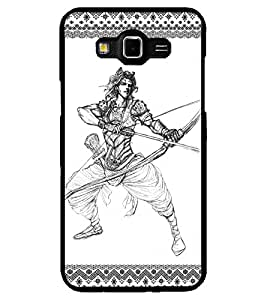 ColourCraft Karna Design Back Case Cover for SAMSUNG GALAXY GRAND 3