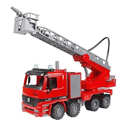 Unterhaltung Feuerwehrauto Feuerwehrauto Spielzeug schießen Wasser mit leistungsstarken Reibrädern zurückziehen LKW - Mini Feuerwehrauto Spielzeug for Kleinkinder und junge Kinder (ab 3 Jahren) Spielz