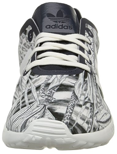 adidas - Zx Flux Smooth, Sneaker Donna Bianco (Blanc (Legend Ink S10/Legend Ink S10/Core White))