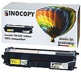 SinoCopy Toner ersetzt Brother TN-325 Yellow für Brother DCP-9055CDN, DCP-9270, HL-4140, HL-4150, HL-4570, MFC-9460CDW, MFC-9970, MFC-9560 - Yellow 3.500 Seiten TN 325 TN 328