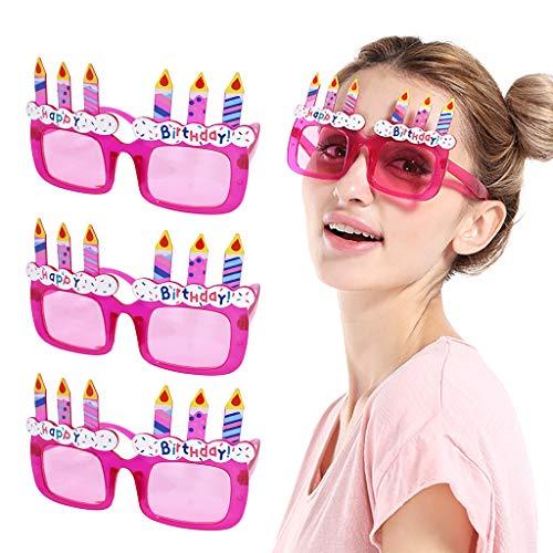 serliy Lustige verrückte Kostüm Brillen Neuheit Kostüm Party Sonnenbrillen Zubehör