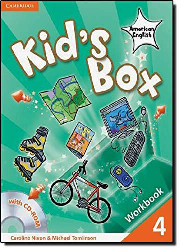 Kid's Box American English  4 Workbook with CD-ROM por Caroline Nixon