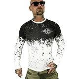 Yakuza Herren Splatter Longsleeve T-Shirt