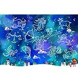 Puzzle House- Astrologia Zodiaco in Legno Jigsaw Puzzle, Pittura Decorativa, Perfect Cut & Fit, Classic 500/1000/1500 Pezzi Giocattoli in Scatola Arte del Gioco per Adulti e Bambini -503