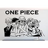 Wandtattoo One Piece Größe L