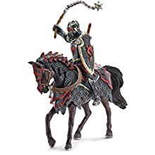 Schleich - 70101 - Figurine - Chevalier - Dragon à Cheval avec Fléau d'Armes