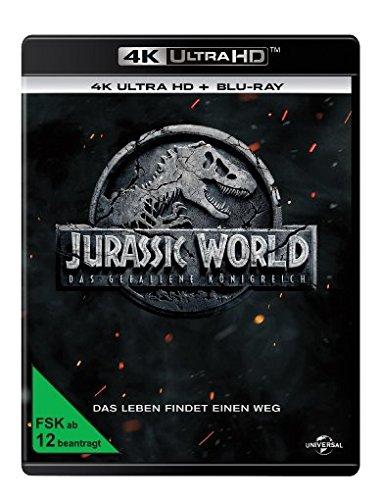 Jurassic World: Das gefallene Königreich (4K Ultra HD) (+ Blu-ray 2D) (Hd-dvd)