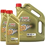 2x 1 L + 1x 5 L = 7 Liter Castrol Edge FST 0W-40 A3/B4 Motor-Öl Motoren-Öl; Spezifikationen/Freigaben: SAE 0W-40; ACEA A3/B3, A3/B4; API SN/CF; VW 502 00/ 505 00; BMW Longlife-01; MB-Freigabe 229.3/ 229.5; Porsche A40; Meets Ford WSS -M2C937-A