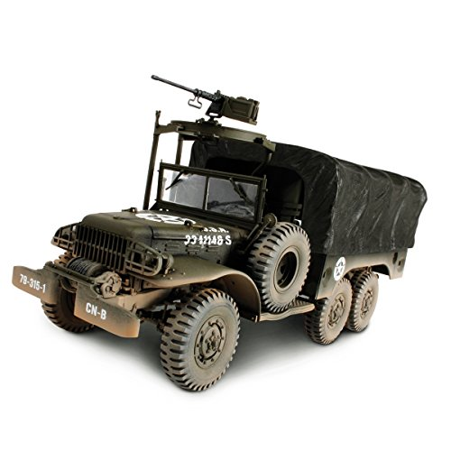 1:32 Medium Vehicles U.S. 6X6 1.5 Ton Cargo Truck - Cargo-zubehör Truck
