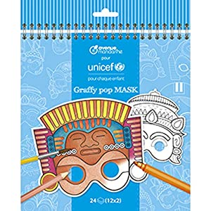 Avenue Mandarine - Collection UNICEF, Graffy Pop Mask, co185 C, Sujetadores